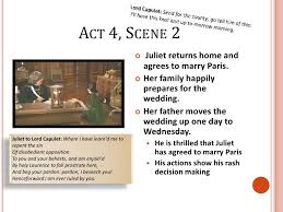 wedding quotes romeo and juliet romeo and juliet act 4 summary notes