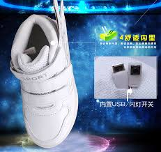 light up shoes charger kids boys girls led light up usb charge sneakers high top luminous