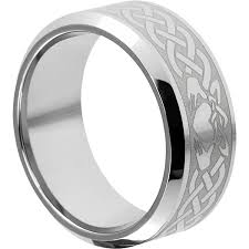 claddagh ring clatter claddagh rings beveled bands forever metals