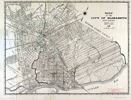 Map New Jersey Historical Union County New Jersey Maps