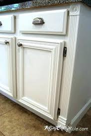 Kitchen Cabinet Door Trim Molding Molding For Cabinet Doors Looking Adding Trim To Cabinet