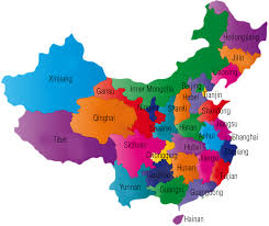 map of province map of china province