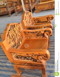 Wooden Carving Sofa Designs Wood Design Carved Stock Photo Image 39347346