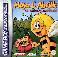 maya bee sweet gold game boy advance game