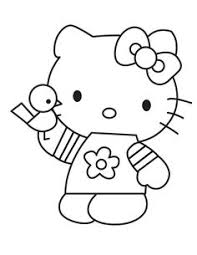 kitty valentines coloring pages valentines cartoon