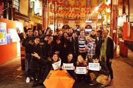 large groups coorporate pub crawl