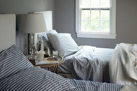 Trisha Bedroom Striped Bedding Cottage Bedroom Benjamin Moore Cape May