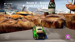 table top racing world tour unthinkable ii coin guide all