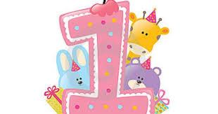 1st birthday girl 1st birthday girl clipart 53