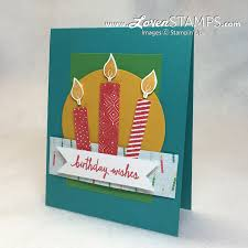 diy birthday cards build a birthday candle tutorial lovenstamps