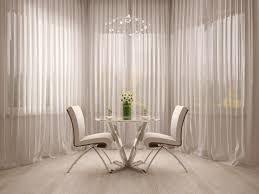 Window Treatments For Dining Room Bay Window Treatments 3 Suggestions