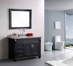 Porcelain Bathroom Vanity White Grey Bathroom Design Ideas Using Light Blue Gray Bathroom