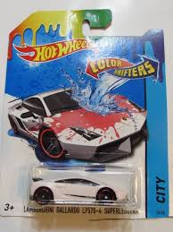lamborghini aventador hotwheels wheels color shifter car model lamborghini gallardo lp570 4