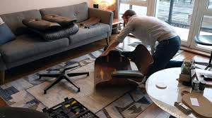 eames chair living room eames lounge chair restoration youtube