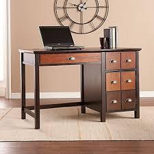 southern enterprises writing desk southern enterprises hendrik apothecary desk in espresso bed bath