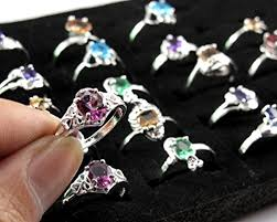 wholesale rings com images Woman wholesale lots 30pcs rhinestone assorted silver jpg