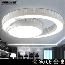 Ceiling Light Led Modern Led Ceiling Light Fixture Flush Mounted Acrylic Ring