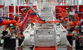 tesla factory tesla motors inc tsla responds to report guest workers were