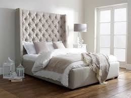 wingback upholstered king bed ideas modern king beds design