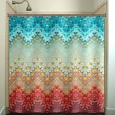 Turquoise Shower Curtains Coral Reef Shower Curtain Getanyjob Co