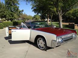 lincoln continental convertible doors american classic car