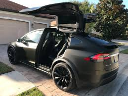 electric cars tesla tesla model x black satin gold dust vinyl wrap with carbon fiber