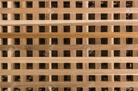 wood lattice wall wood grill or lattice fence pattern stock photo picture and