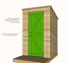 plans for cabins ana white build a outhouse plan for cabin free and easy diy
