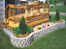 small home garden retaining wall ideas youtube