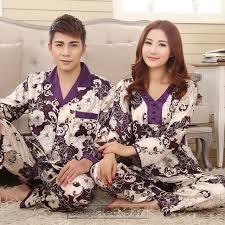 aliexpress buy 2017 summer autumn silk family pyjamas
