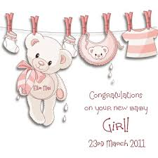 baby girl cards new baby girl card