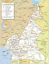Un Map Administrative Map Of Cameroon 1200 Pixel Nations Online Project