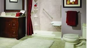 accessibility products waldorf bathroom remodel see thru tub to shower conversion maryland