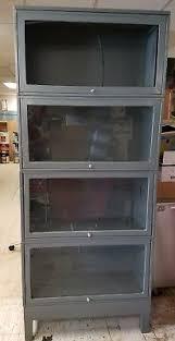 Metal Lawyers Bookcase 1900 1950 Bookcases Furniture Antiques U2022 874 Items Picclick