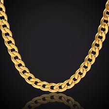 vintage gold chain necklace images Buy chunky gold chain necklace 12mm hip hop jpg