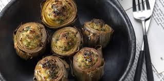 comment cuisiner l artichaut cœurs d artichauts farcis saganaki facile recette sur cuisine
