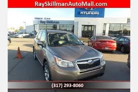 Subaru Forester Rugged Package Used Subaru Forester For Sale In Indianapolis In Edmunds
