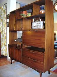 mid century modern room divider a modern line heywood wakefield refinishing and other mid
