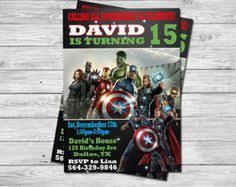 avengers avengers comic invitation the avengers birthday