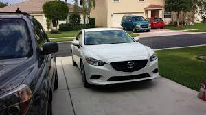 mazda forum picked up my new white touring today now with 50 more pedeals