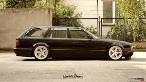 stanced rolls royce stanced bmw 525i touring e34 cartuning best car tuning photos