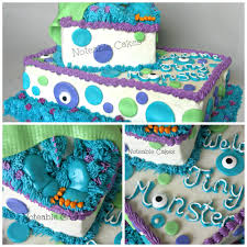 monster u0027s inc baby shower cake cake ideas pinterest shower