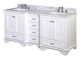 72 Inch White Bathroom Vanity by Kitchen Bath Collection Kbc1272wtcarr Nantucket Bathroom Vanity