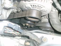 changing a drive belt help needed toyota estima owners club