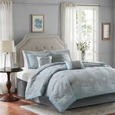 bed linen stunning blue and ivory bedding solid navy blue