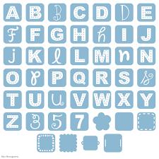 initial fonts for monogram cricut mini monograms