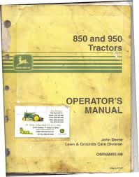 my john deere 950 operator u0027s manual poudre river stables