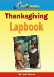 thanksgiving lapbook pdf cyndi kinney