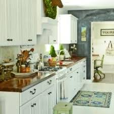 white cabinets with butcher block countertops photos hgtv