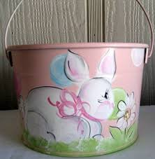 painted easter buckets 227 best easter baskets and buckets images on easter